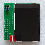 Nokia QVGA TFT LCD for the Arduino Mega. Design and build (part 1 of 2)