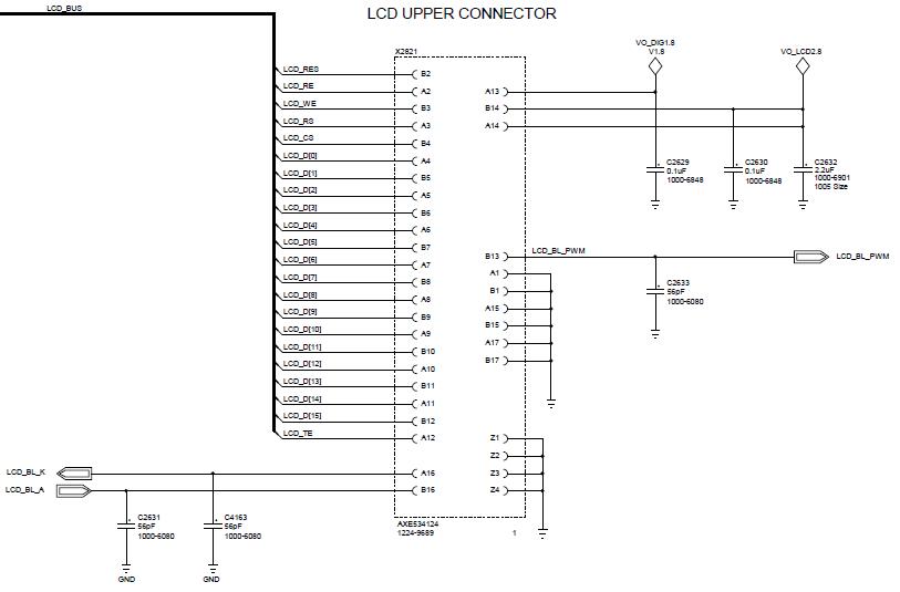 Reverse engineering the Sony Ericsson Vivaz high resolution 640 x
