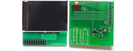 Reverse engineering the Nokia 2730 QVGA LCD