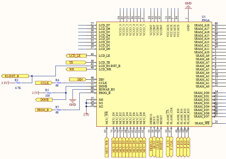 An FPGA sprite graphics accelerator with a 180MHz STM32F429 ... Stm F Discovery Schematic on