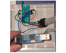 An ATtiny85 development environment