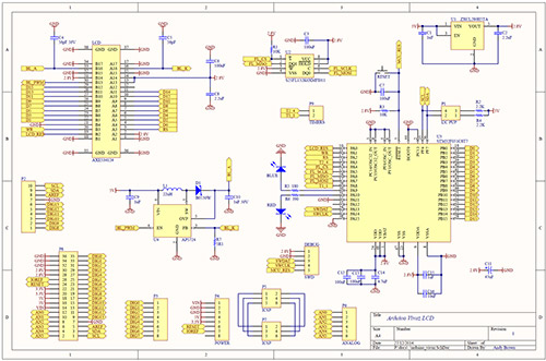 Arduino Uno R3 graphics accelerator shield uses no pins