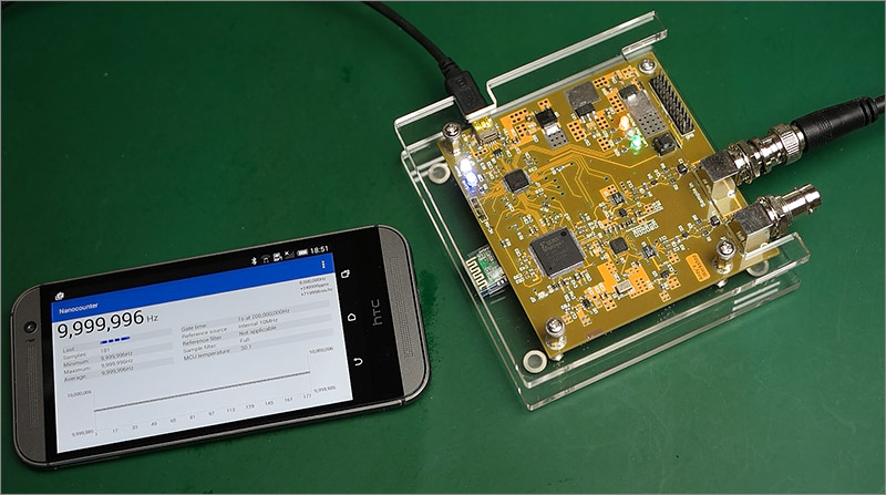 GPS Disciplined Oscillator review and teardown | Andys Workshop