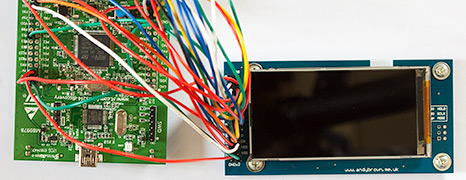 Reverse engineering the LG KF700 480 x 240 widescreen cellphone LCD