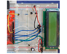 LCD backlight and contrast manager