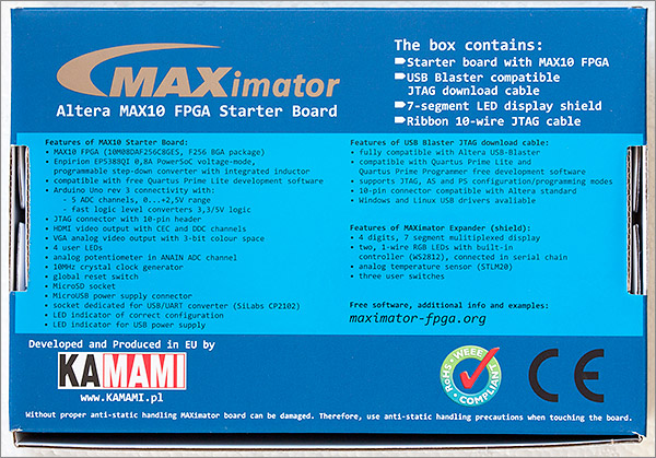 A review of the Maximator Altera FPGA development board
