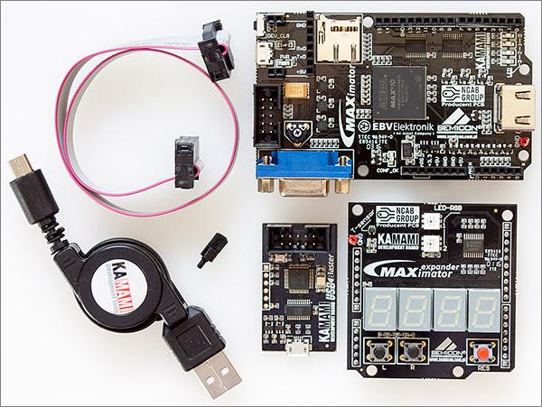 A review of the Maximator Altera FPGA development board 27