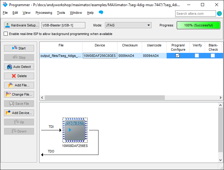 A review of the Maximator Altera FPGA development board 46
