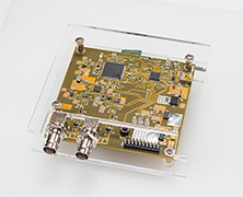An acrylic case for Nanocounter