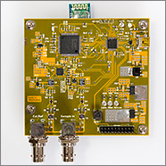 Nanocounter is an accurate frequency counter using an FPGA, STM32 and a bluetooth android app