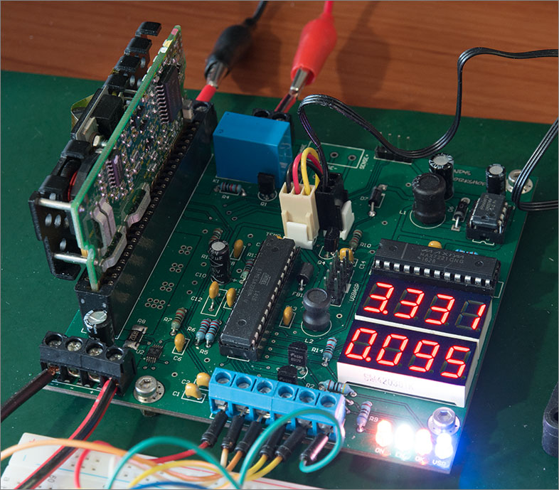 A high current power supply built around a server voltage regulator
