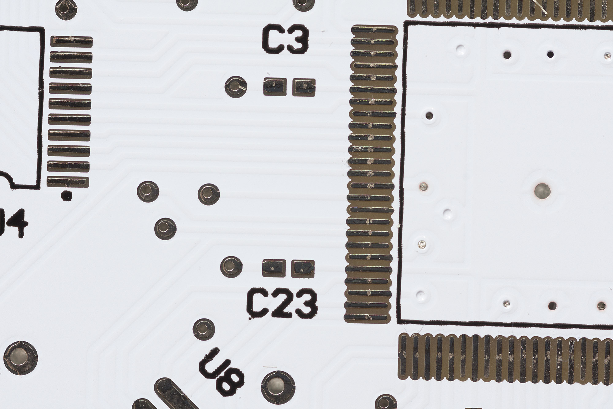 Pcb Soldermask Colours Which One Should You Choose Andys Workshop Black And White Circuit Board Bar Code