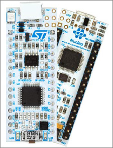 Development Board for the STM32F042 5