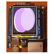 stm32plus: ILI9325 TFT driver