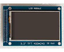 stm32plus: ILI9327 TFT driver