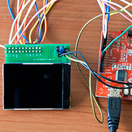 Interfacing the Nokia 6300 QVGA TFT to the standard Arduino