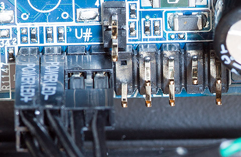 Hacking the HP Z800 Xeon motherboard into a standard case